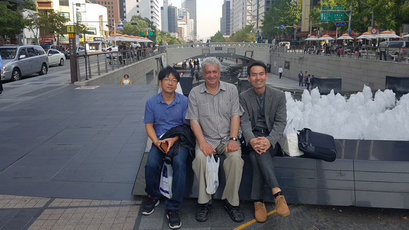 Vlado Pšenko u Južnoj Koreji